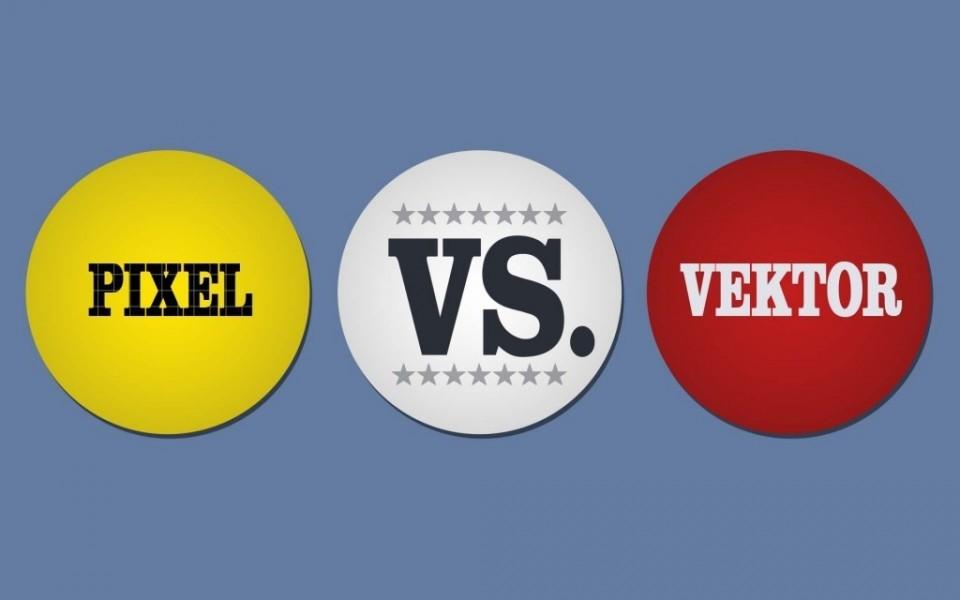 Pixel vs Vektorgrafik