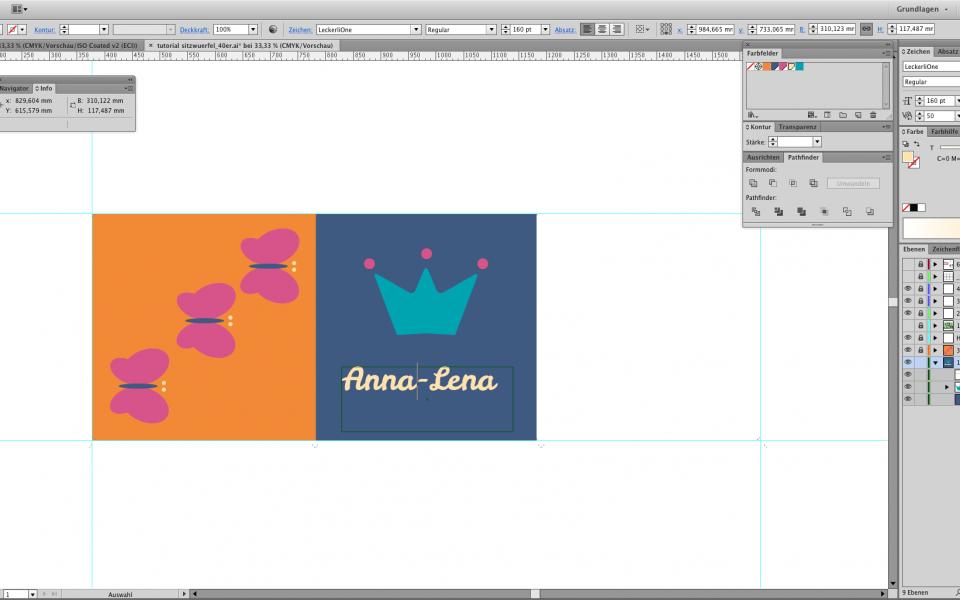 Textwerkzeug im Illustrator