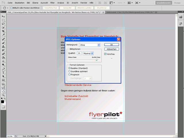 Flyer mit Photoshop erstellen - Flyer-Tutorial für Photoshop für Flyergestaltung