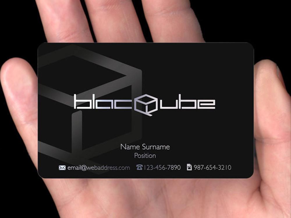 Visitenkarten-Design von BlackMetal BusinessCards
