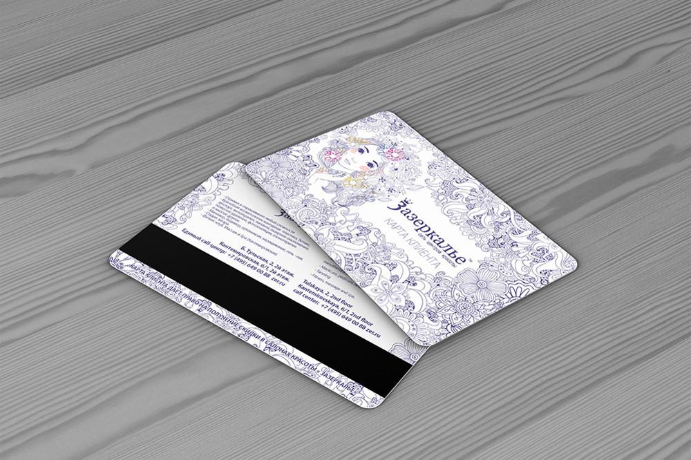 40 ausgefallene Visitenkarten - Plastikkarten