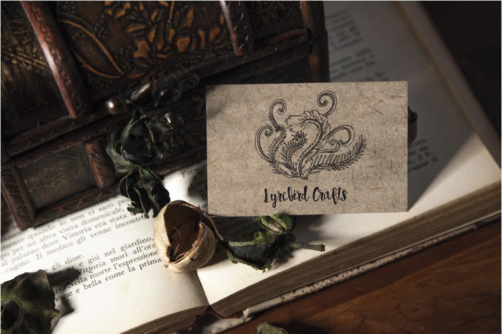 Visitenkarten-Design von Paige Zidar