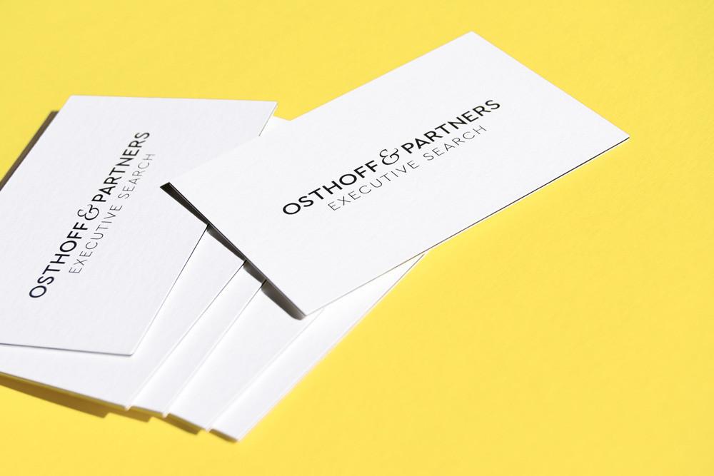 Visitenkarten-Design von Tanja Oppel