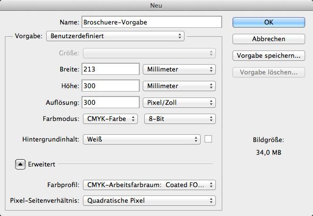 Broschüren mit Photoshop gestalten - Broschürengestaltung im Photoshop