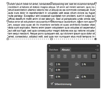Broschüren mit Photoshop gestalten - Textbearbeitung bei Broschüren im Photoshop