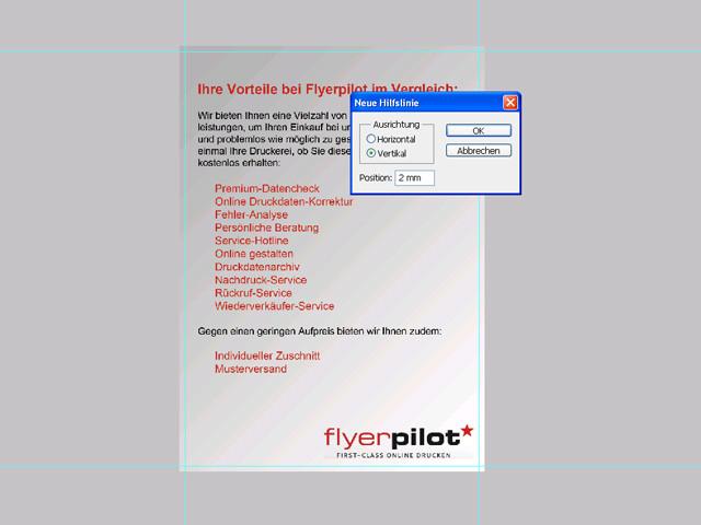 Flyer mit Photoshop erstellen - Mit Photoshop - Flyer Gestaltung