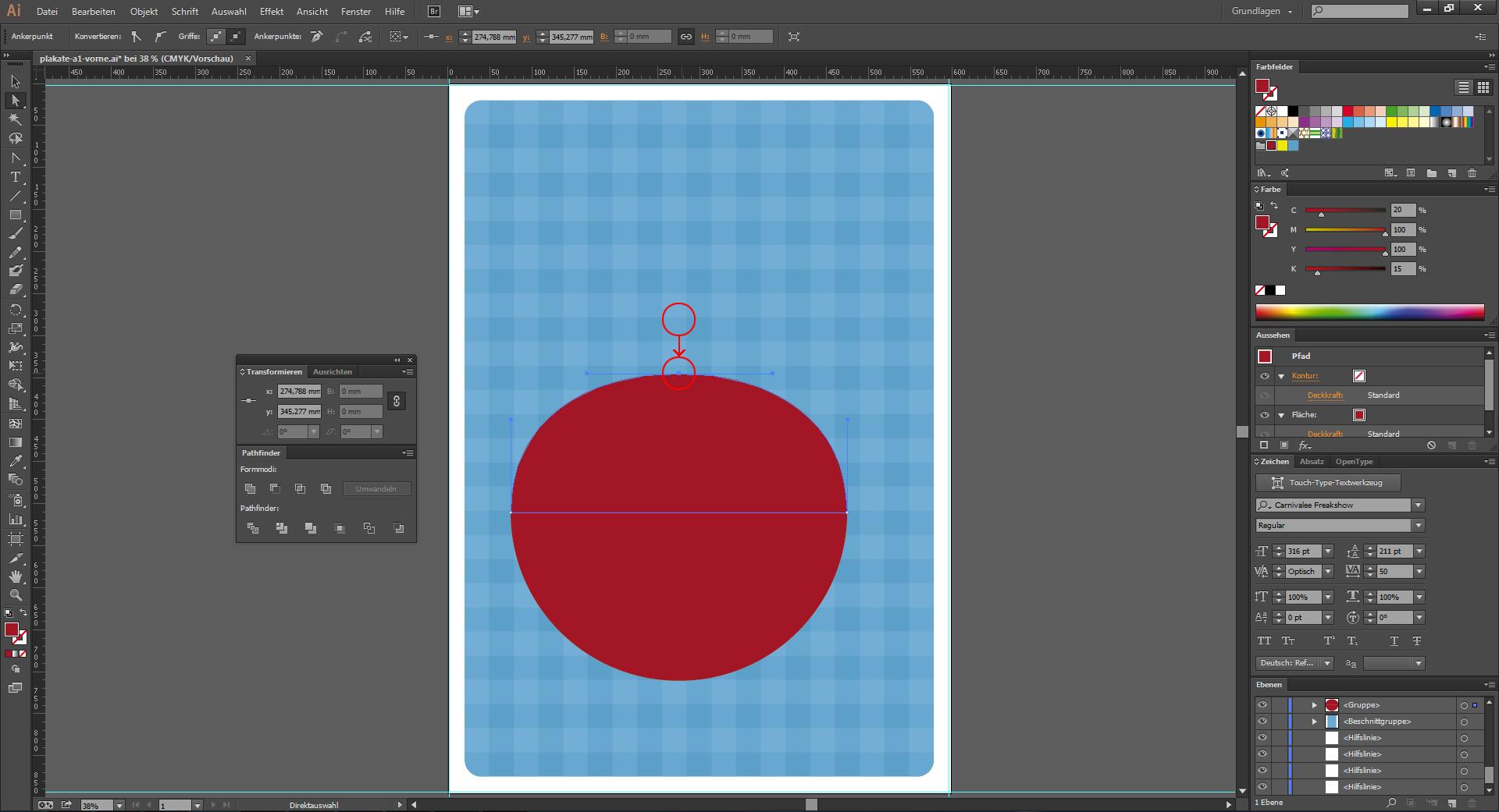 Grafische Elemente im Illustrator zeichnen