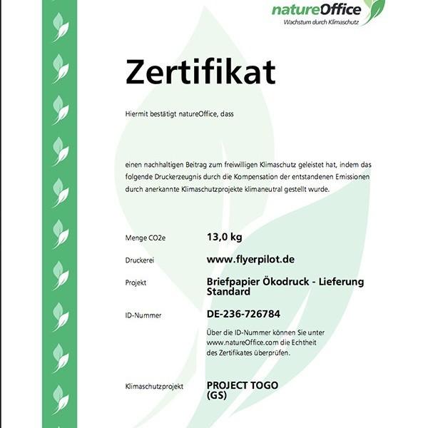 """""""Print CO2-geprüft"""": Drucken wird grün - """"Print CO2-geprüft"""": Drucken wird grün"""