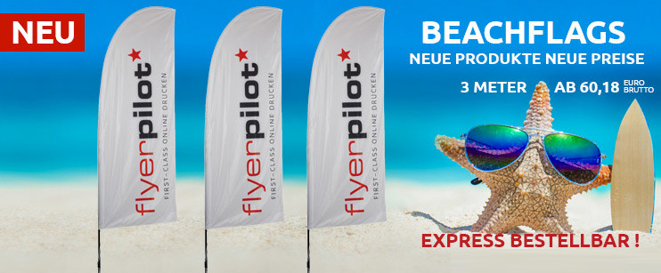 Neu Beachflags