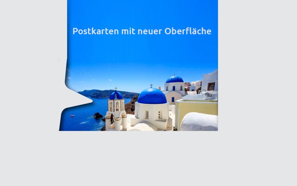 Orginal Postkartenkarton
