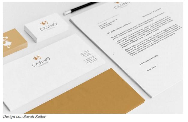 Briefpapier Vorlage