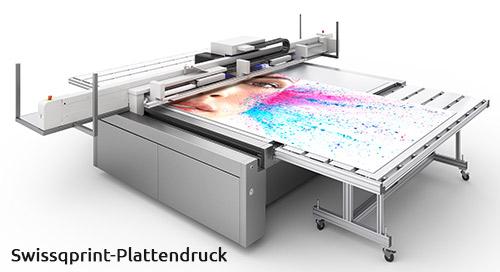 Maschine zum Alu-Dibond Platten bedrucken