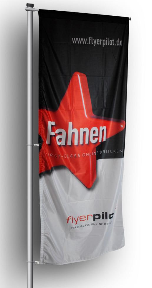 Fahne für Ausleger-Fahnenmast