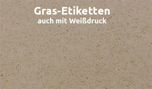 Gras-Papier-Etiketten-Oberfläche