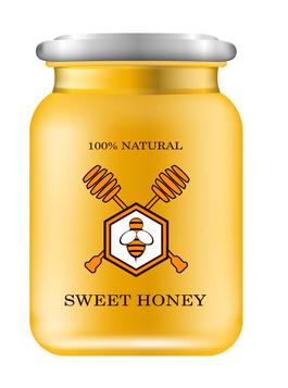 Honigetikette-tranzparent